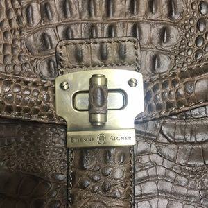 Etienne Aigner Bags - NWOT Etienne Aigner crossbody leather bag